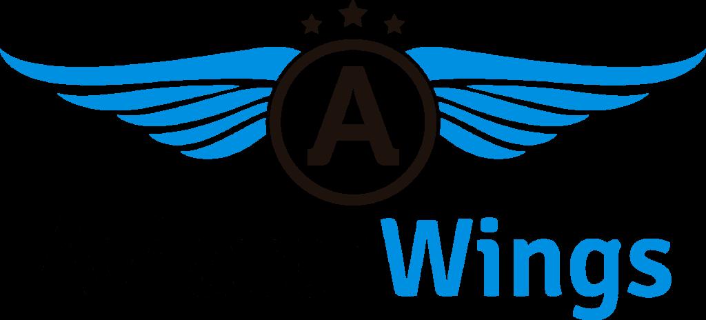 Logo de Aviator Blue Wings