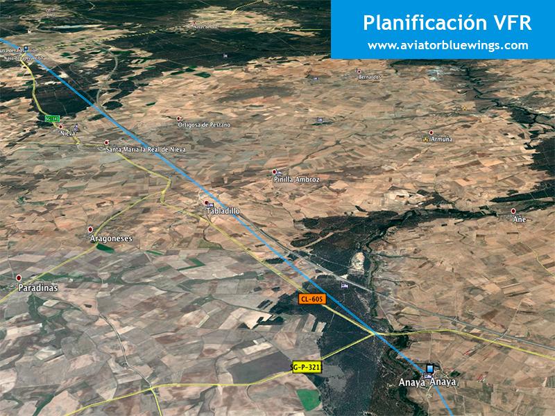 Planificación de vuelo. Google Earth